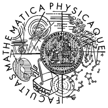 Logo of Faculty of Mathematics and Physics
